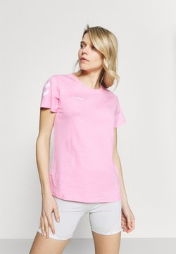 Hummel - GO WOMAN - Camiseta estampada - candy