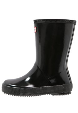 Hunter ORIGINAL - KIDS FIRST CLASSIC GLOSS - Gummistiefel - black