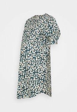 MAMALICIOUS - MLCAMI DRESS - Vestido ligero - frosty green/white/brown