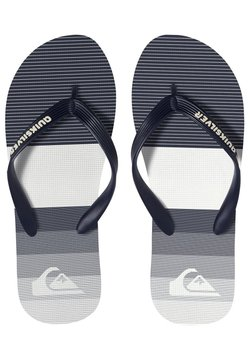 Quiksilver - MOLOKAI TIJUANA  - Tongs - blue/white/black