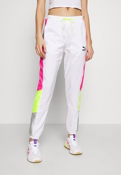 Puma - TFS OG RETRO PANTS - Jogginghose - puma white