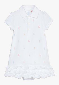 Polo Ralph Lauren - SCHIFFLI DRESSES - Jerseyklänning - white