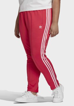 adidas Originals - PRIMEBLUE SST TRACKSUIT BOTTOMS (PLUS SIZE) - Jogginghose - pink