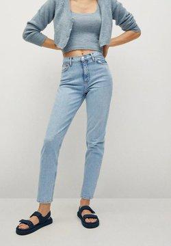 Mango - NEWMOM - Jeans Slim Fit - lichtblauw