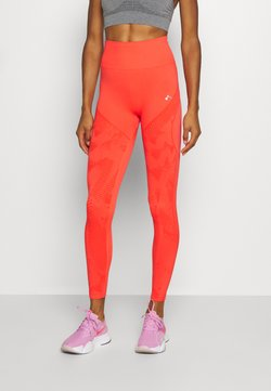 ONLY Play - ONPJASE CIRCULAR  - Tights - fiery coral