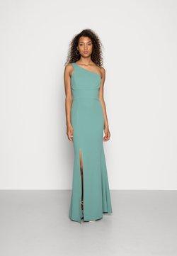 WAL G. - SUZANNA ONE SHOULDER DRESS - Iltapuku - sage green