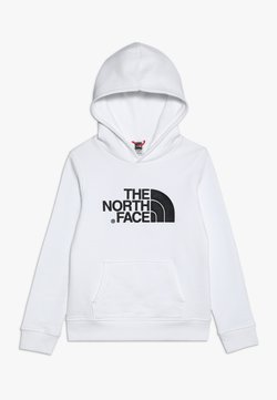The North Face - YOUTH DREW PEAK HOODIE UNISEX - Hoodie - white/black