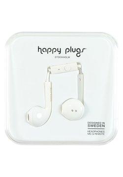 Happy Plugs - Høretelefoner - white