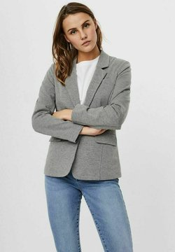 Vero Moda - VMHARUKI - Blazer - medium grey melange