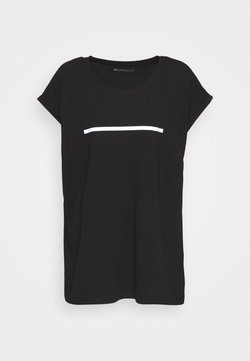 Even&Odd active - T-Shirt print - black