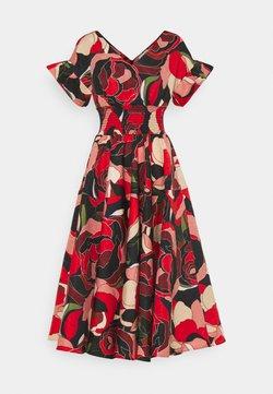 Molly Bracken - YOUNG LADIES DRESS - Vestido de cóctel - roses red