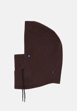Volcom - DANG POLARTEC HOOD - Bonnet - black/red