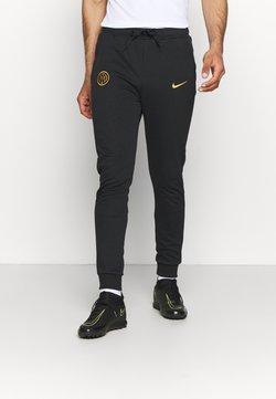 Nike Performance - INTER MAILAND TRAVEL PANT - Vereinsmannschaften - black/truly gold