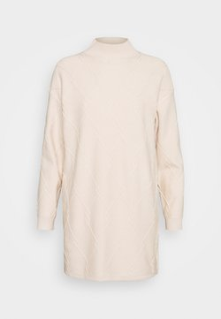Fashion Union - FRESNA DRESS - Vestido de punto - cream