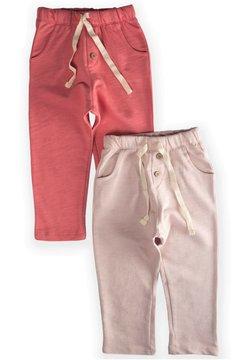 Cigit - POCKET BUTTONED  PACK OF 2 - Pantalones deportivos - light pink
