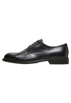 Selected Homme - DERBY - Business-Schnürer - black