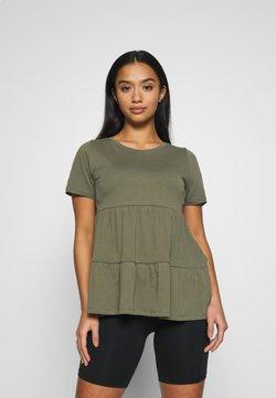 ONLY Petite - ONLAYCA PEPLUM - Camiseta estampada - kalamata