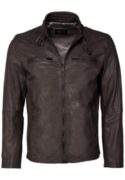 JCC - MIT SCHNALLE - Leren jas - brown