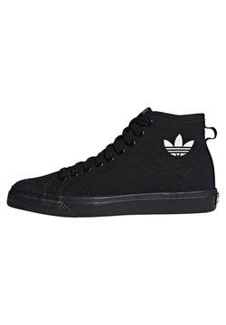 adidas Originals - NIZZA UNISEX - High-top trainers - core black/footwear white