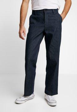 Nudie Jeans - LAZY LEO - Jeans straight leg - dry classic slub