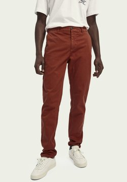 Scotch & Soda - Stoffhose - brick