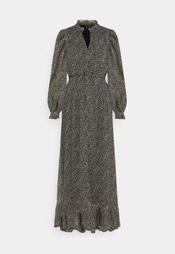 Vero Moda - VMHIBISCUS SMOCK MAXI DRESS - Maxikleid - black/white