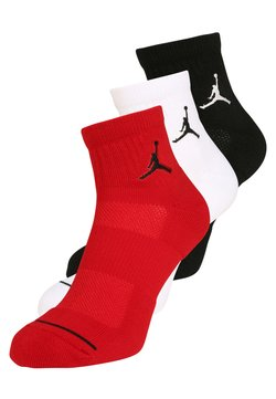 Jordan - JUMPMAN 3 PACK - Sportsocken - black/white/gym red