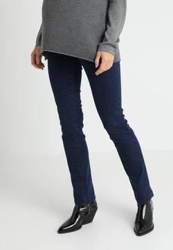 MAMALICIOUS - MLLOLA - Straight leg jeans - dark blue denim