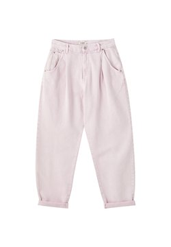 PULL&BEAR - SLOUCHY - Jeans relaxed fit - rose