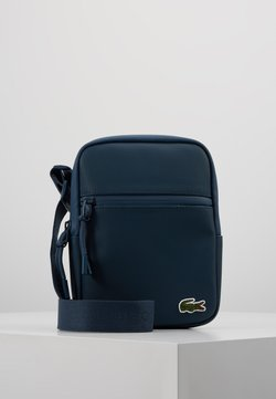 Lacoste - FLAT CROSSOVER BAG - Sac bandoulière - reflecting pond