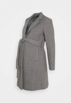 New Look Maternity - JORDAN BELTED JACKET - Abrigo - grey
