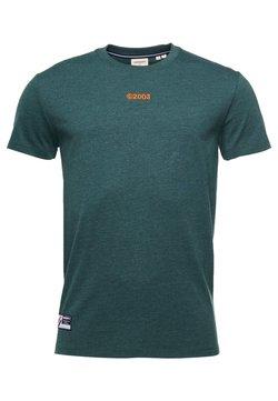 Superdry - Print T-shirt - enamel green marl