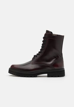 The Kooples - Schnürstiefelette - red