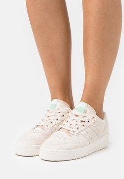 adidas Originals - RIVALRY - Sneakers basse - halo ivory/chalk white