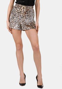 faina - Shorts - beige leo