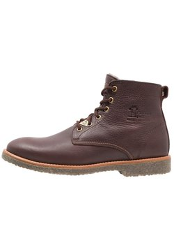 Panama Jack - GLASGOW IGLOO - Bottines à lacets - brown
