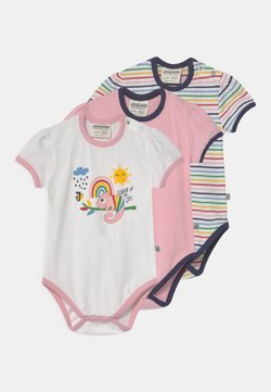Jacky Baby - KURZARM COLOUR UP MY LIFE 3 PACK - Body - light pink/multi-coloured