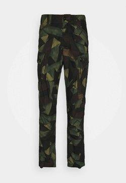 G-Star - ROXIC STRAIGHT TAPERED PANT - Pantalon cargo - olive/brown