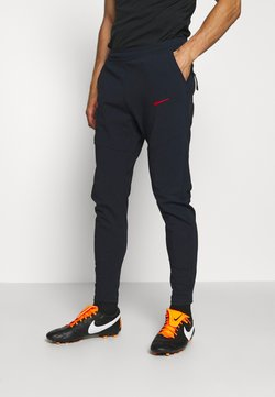 Nike Performance - FRANKREICH FFF PANT - Landsholdstrøjer - dark obsidian/university red