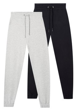 Stradivarius - 2 PACK - Jogginghose - black