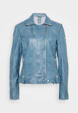 Gipsy - FAVOUR LAMAXV - Leren jas - light blue