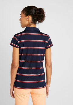 Lacoste Sport - Funktionsshirt - navy blue/princess pink/flash red