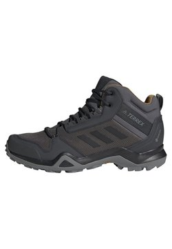 adidas Performance - TERREX AX3 MID GORE TEX HIKING SHOES - Hikingschuh - grey/ black