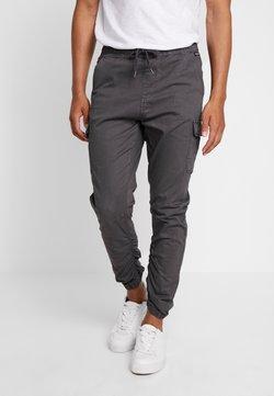INDICODE JEANS - LAKELAND - Cargo trousers - dark grey