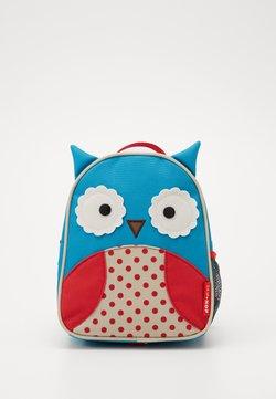 Skip Hop - ZOO LET OWL - Tagesrucksack - blue/red