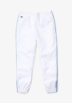 Lacoste Sport - TENNIS UNISEX - Jogginghose - blanc / bleu