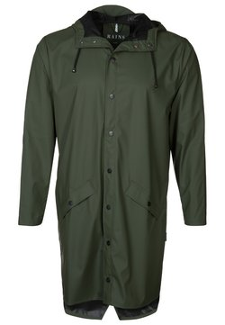 Rains - UNISEX LONG JACKET - Regnjakke - green