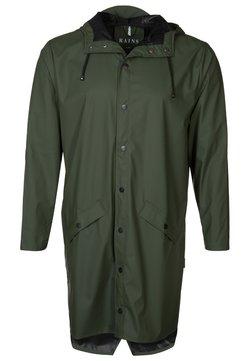 Rains - UNISEX LONG JACKET - Regnjacka - green