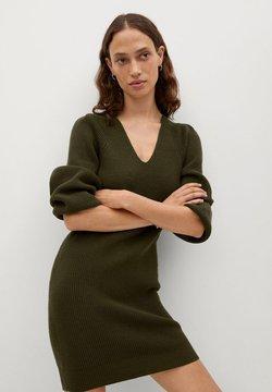 Mango - SAYN - Gebreide jurk - khaki