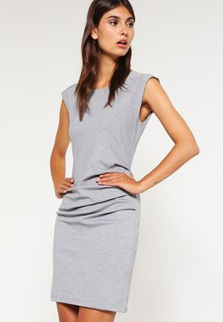 Kaffe - INDIA O NECK - Vestido de tubo - grey
